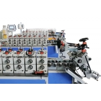 Quality Automatic High Precision V Band Clamp Cold Roll Forming Machine for sale