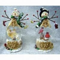 China Polyresin Christmas Crafts/Suit for the Decorative Item in the Household/Available in Various Colors on sale
