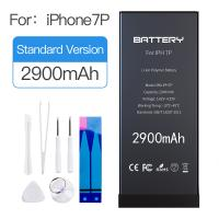 Quality Rechargeable Iphone 7 Plus Lithium Battery 2900mAh Capacity 3.82V~ 4.35V Energy Saving for sale