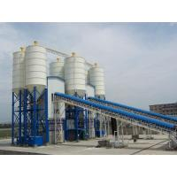 Quality HZS120 Concrete Batching Plant Stationary Modular Design Easy Installation And Removal for sale