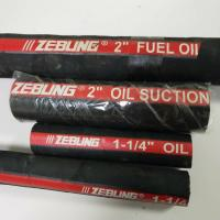 Quality Anti - Aging Industrial Fuel Oil Delivery Hose With High Tensile Textile Cord for sale
