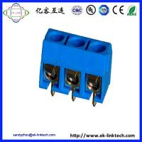 Quality F11-6-5.0 PCB  PCB Mount Screwless Spring Terminal Block connector for sale