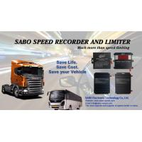 Quality Truck speed limited gps tracker SPG001 , vehicle / bus / truck gps tracker with vehicle speed limiter for sale