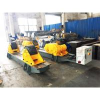 Quality 120Ton Pressure Vessel Tank Turning Rolls Conventional Bolt Adjustable Steel Rollers for sale