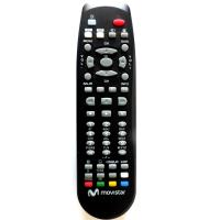 Buy cheap ABS Case Movistar Remote Control Black Color Two AA Batteries Powered from wholesalers