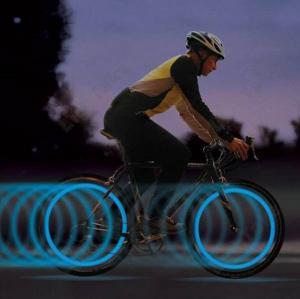 New Blue Red Color LED Wheel Light