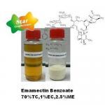 Quality Emamectin Benzote 70%TC, 1%EC, 2.5%ME, 5%WSG for sale