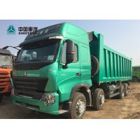 Quality Euro 4 420HP High Roof Cab HOWO A7 Dump Truck With Double Bunker For Phillipine for sale