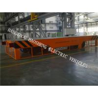China Electric Control Rail Flat Car 150 Tons Load With Induction Type KPX-150 on sale