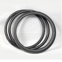 Quality Tubular Tubuless Carbon Fiber Road Bike Rims Strong 700c 50mm Clincher 400g Weight for sale