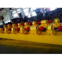 Wireless PU Welding Tank Turning Rolls 15000kg for Pipe System in Yellow