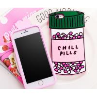 Quality Chill pills love options silicone Case For iPhone 4 5s 6 plus 7 SAMSUNG s5 s4 S6 S7 NOTE 7 3 5 for sale