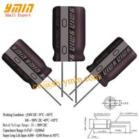 High Voltage Capacitors : High power capacitor radial aluminum electrolytic