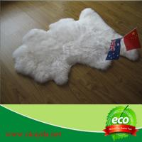 Quality fashion design hot sale good quality sheepskin rug sheep fur rugs made in China for sale