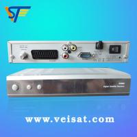 Quality PLL RF Modulator Satellite Receiver DVB-S BISS 4100c with RS232C Port for Updating    for sale