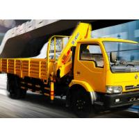 Quality Durable 4 Ton Lorry Mounted Crane Architecture Truck ,Driven By Hydraulic for sale