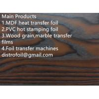 Buy cheap Wood grain hot stamping foil for MDF from wholesalers