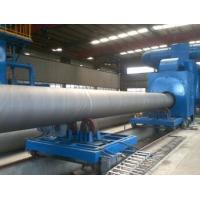 China Automatic Shot Blasting Machine , Outer Wall / Internal Pipe Blasting Equipment on sale