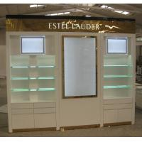Quality LED Lightings Famous Cosmetics Shop Wood Cabinets for sale