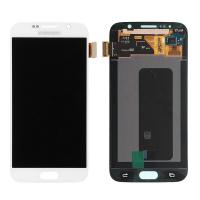Quality For OEM Samsung Galaxy S6 SM-G920/G920A/G920P/G920R4/G920T/G920F Complete Display Complete Screen - White - Grade A for sale