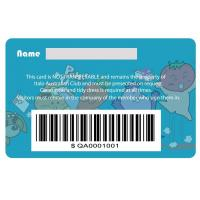 Buy cheap Barcode Gift Card full color printing from wholesalers