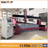 Quality Dynamic 5 axis cnc water jet cutting machine for granite and marble for sale