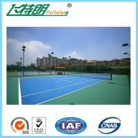 China Green PU Sports Court Flooring Custom Badminton Polyurethane Floor on sale
