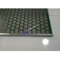 China FLC 2000 Flat Shale Shaker Screen Mud Net For Skid Mounted Solids Control System on sale