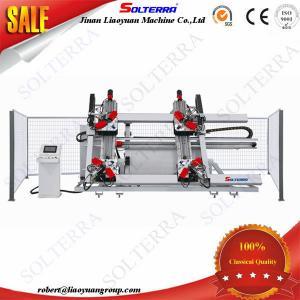 Quality Aluminium Windows CNC Four Corner Crimping Machine LZJ4-CNC-3000 for sale