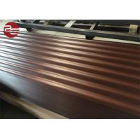 Quality Prepainted Corrugated Galvanized Sheet Metal Profile Roofing Sheets With Ce Certificate for sale