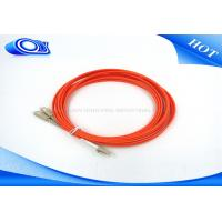 Buy Duplex MM OM3 Fiber Patch Cable , SC - LC Fiber Patch Cord For Gigabit Ethernet at wholesale prices