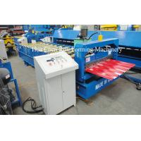 Quality Automatic Station Power 4kw Standard Roof Tile Roll Forming Machine With CE for sale