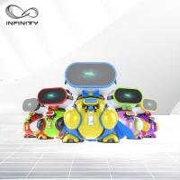 Quality Attractive Colorful Funny VR Game Children VR Simulator / 9D Virtual Reality Machine for sale