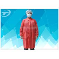 Quality Disposable Lab Medical Protective Clothing SBPP Fabric CE Certificated for sale