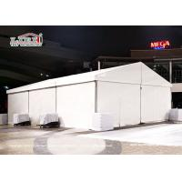 China CFM Small Party Tent 10x15m For 100-150 People White Lining And Curtains Around on sale