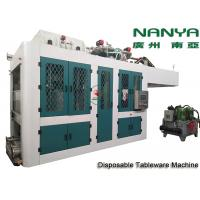 Quality Automatic Biodegradable Bagasse Pulp Molding Equipment / Plate Making Machine for sale