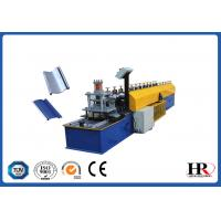 Quality 0.6 - 0.8mm Thickness Metal Shutter Roll Forming Machine With 180mm Feeding Coil Width for sale