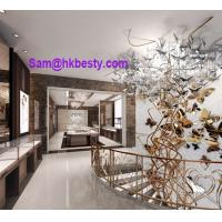 Buy cheap jewelry mall kiosk design and manufacture of kiosk furnitures and lightings from wholesalers