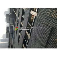 China Platfrom Mild Steel Bar Grating Custom Color Bearing Bar ISO9001 Certification on sale