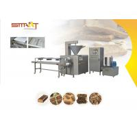 Quality Smart Protein Bar Making Machine , 100kg/Hr Energy Bar Manufacturing Equipment for sale