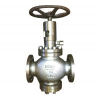 Quality Renewable Disc Plug Type Globe Valve Flexible Graphite MSS SP-25 B16.34 for sale