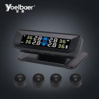 Quality Wireless Tire Gauge TPMS Monitoring System / Solar Power TPMS Tire Pressure Sensor System for sale