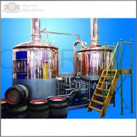 Quality 500L stainless steel ss304 microbrewery equipment for sale with steam heating mash tun and lauter tun for sale