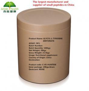 Quality Glycyl-L-Tyrosine Dihydrate Powder Small Peptides CAS 658-79-7 High Pure for sale