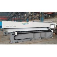 Buy cheap 1500×4000mm CNC V Grooving Machine , White Hydraulic Notching Machine from wholesalers
