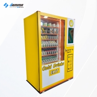 Quality 1500W Milk Drink Vending Machine 21.5 Inch Touch Screen for sale