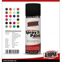 China Widely Application Supper Fast-Dry Car Aerosol 400ML Colorful Spray Paint on sale