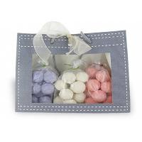 Quality 3 Bags 15 Mini Bath Bomb Gift Packs Exotic Fragrance Purple / White / Pink for sale