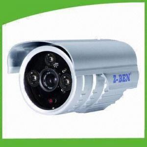 Quality 3-piece Dot-matrix Weatherproof IR Camera with High-power IR LEDs and 700TVL Horizontal Resolution for sale