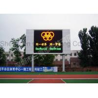 Quality Waterproof Stadium Led Display Video / Led Digital Billboards Super Clear Vision for sale